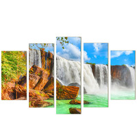 DIY 5D Diamond Painting Waterfall Embroidery Painting Cross Stitch Craft Home Decor Kit 110 50cm