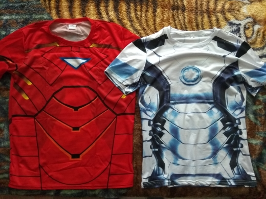 Free shipping 2019 t-shirt Superman/Batman/spider man/captain America /Hulk/Iron Man / t shirt men fitness shirts men t shirts