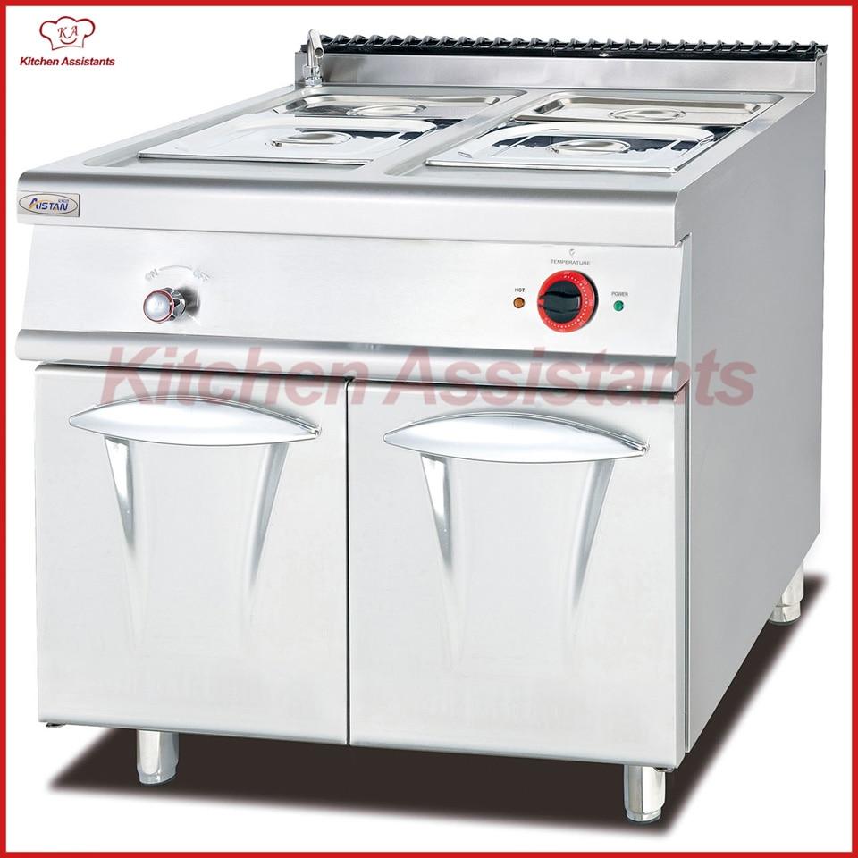 Großgeräte Eh884 Elektro Bain Marie Mit Kabinett Küche Ausrüstung Haushaltsgeräte