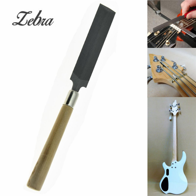 17cm guitar bass nut file luthier tool nut saddle slot filing repair tool for guitar musical. Black Bedroom Furniture Sets. Home Design Ideas