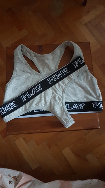 Pholeey Thong Suit Bra Set Female Fitness Workout Seamless A Set Of Sexy Underwear Women Bra Three Patchwork Lingerie T17748