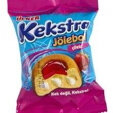 Юлкер кекстра чизлklклубничный Желе торт 34 гр(24 шт) из Турции