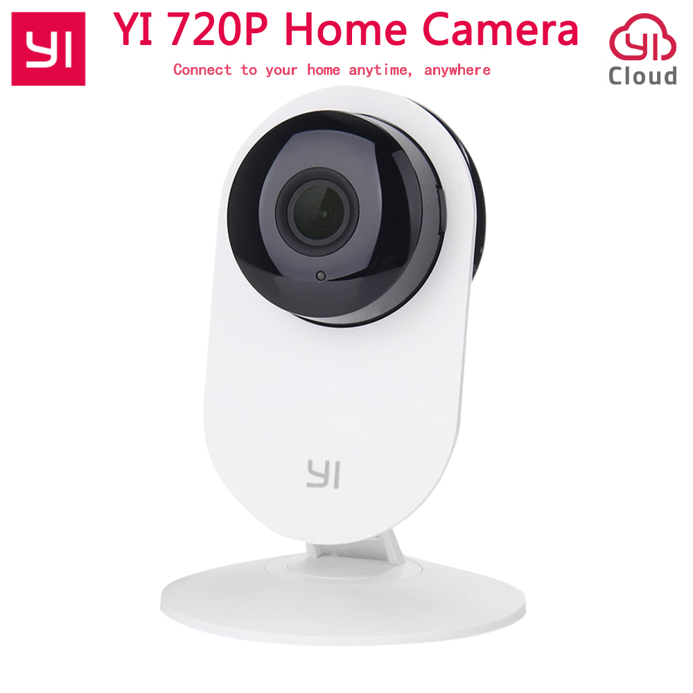 [International Edition] Xiaomi YI Home Camera 720P Wireless Wifi IP Camera Baby Monitor 110 Two way Audio Smart Webcam