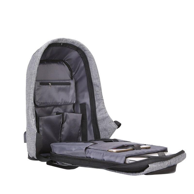 negócio mochila unisex bolsa de Colour : Black
