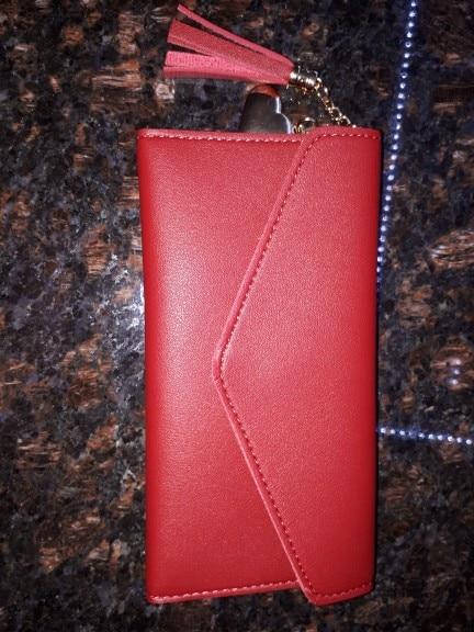 Women Wallets Long Wallets Leather Purse Zipper Wallet Coin Women Money Bag Lady Luxury Brand Female Card Holder Clutch Purses photo review