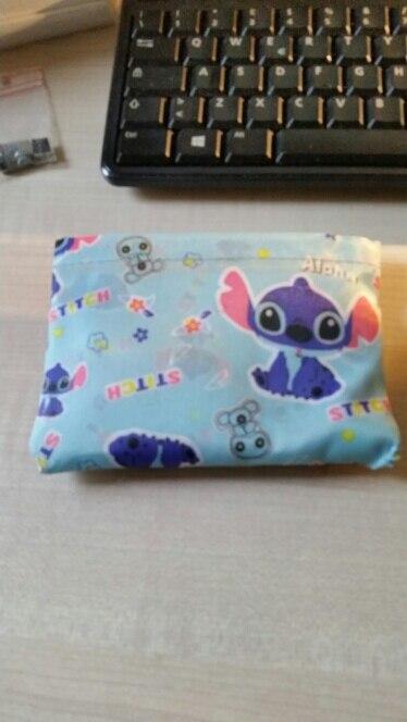 Kawaii My Melody  Little Twin Stars Totoro Mochilas Foldable Large Capacity Shopping Bag Sac a Main photo review