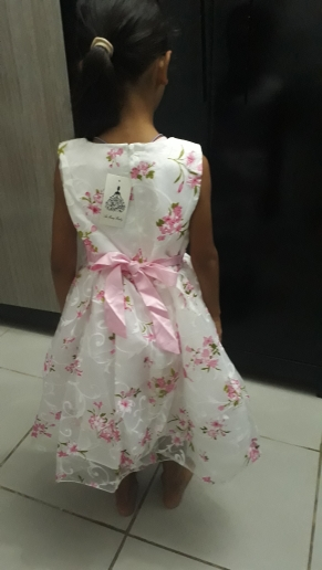 Summer Flower Girl Dresses 2018 New Floral Children Ball Gown Wedding Party Clothing Kids Dress for School Girl Kid robe fille