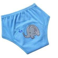1 шт. Многоразовые Детские тренировочные штаны для горшка, тканевые подгузники, короткие трусики, подгузник для малыша, нижнее белье