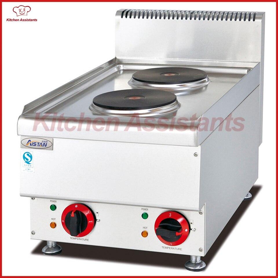 In Ausdrucksvoll Eh647 Elektrische 2 Platten-herd Catering Ausrüstung Exquisite Verarbeitung
