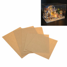 Dust-proof Cover Case For Legend Of The Blue Sea 13844 DIY Dollhouse 22*21*1cm Acrylic