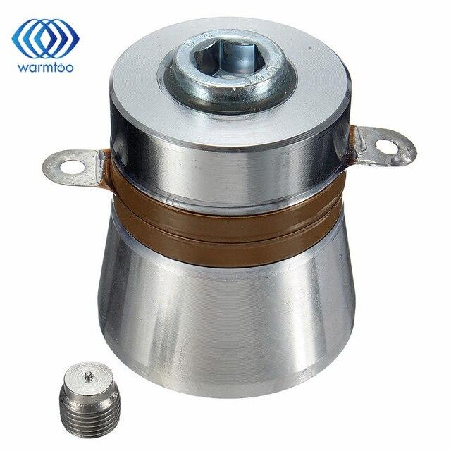 1 шт. 40 кГц 60 Вт Высокая эффективность преобразования ультразвуковой пьезоэлектрический преобразователь очиститель 38x45x48 мм