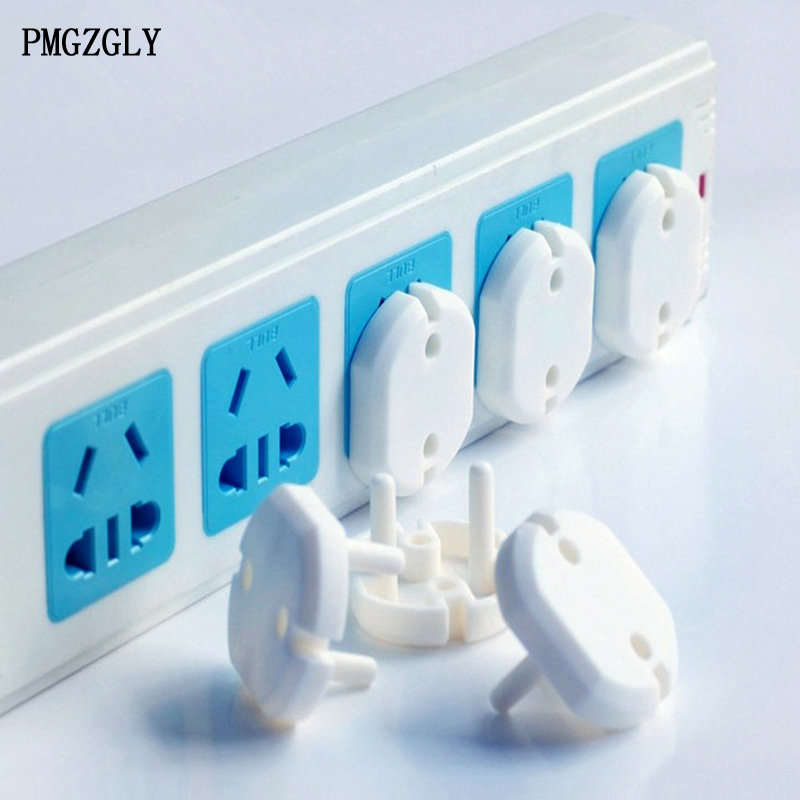Proof 10PCS Outlet Plug Socket Cover Child Baby Safety Guard Mains Protector