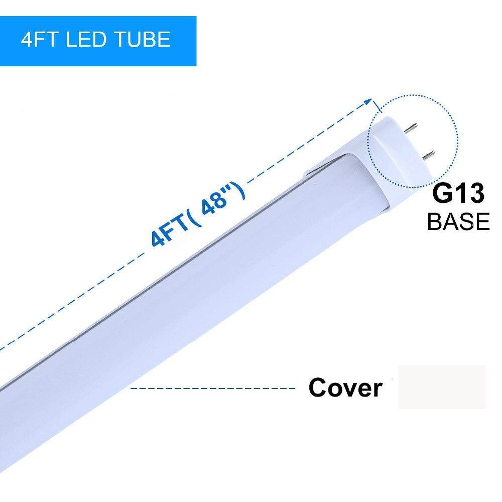 T8 a mené la lumière de tube 1200mm 20 w 22 w 4ft smd2835 tube fluorescent led 110 v 220 v FEDEX livraison gratuite a mené le tube t8 - 4
