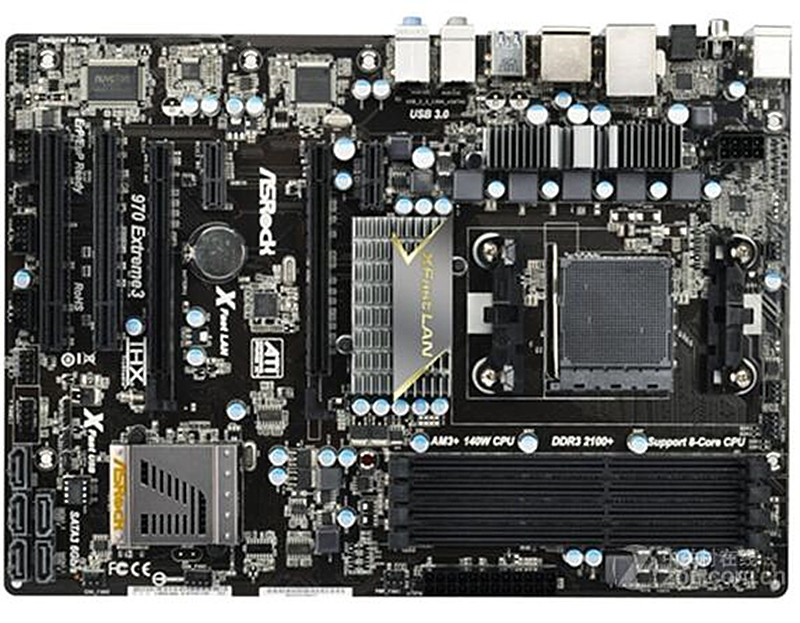 ASRock 970 Extreme4 Motherboard AMD AM3 AM3 Tested