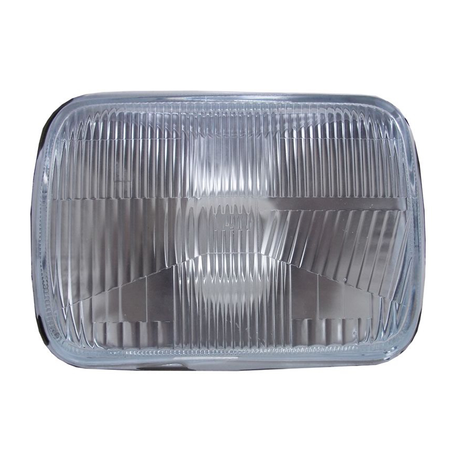 Universal type Headlight H4 7 inches fits TOYOTA Hiace/ Hilux Surf/ 4Runner/ Townace Noah/ Land Cruiser Prado 70/ Dyna