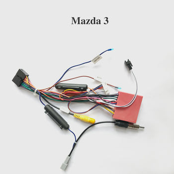 Wiring harness cable for Mazda only for ARKRIGHT Car Radio Android Device