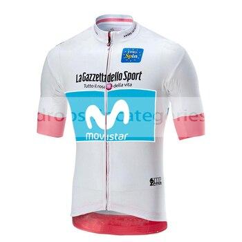 Movistar De Italia 2019 campeón De Ciclismo Jersey manga corta verano tops mtb Ciclismo camiseta Ropa Maillot Ciclismo Racing Ropa