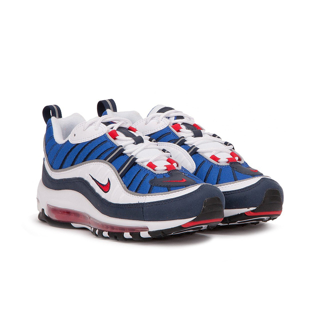 NIKE Air Max 98 Gundam Mens Running Shoes Mesh Breathable Lightweight Support Sports Sneakers Outdoor For Men Shoes 3