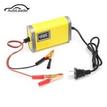 Умный автоматический 12 В 2A Батарея Зарядное устройство Сопровождающий Трикл для автомобиля мотоцикла