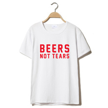 Beers Not Tears women's shirt / girlie