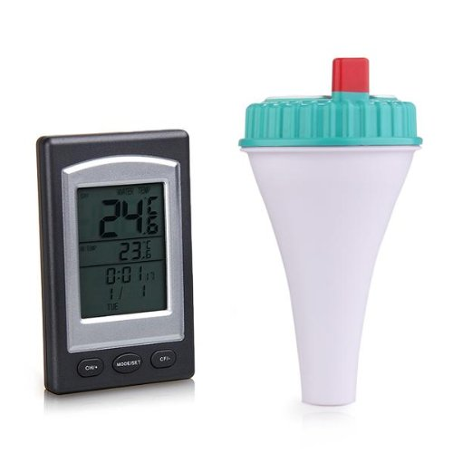 Sodial r thermometer measures temperature tester wireless - Swimming pool water temperature gauge ...
