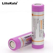 Liitokala 10 stks voor Originele 18650 ICR18650 26F 2600 mah Li Ion 3.7 v Batterij Voor Laptop Zaklamp Batterij3.7v batteryli-ion batteryliitokala 18650