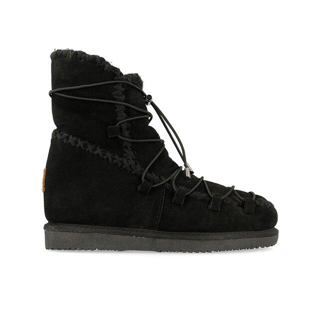 € 64.95   : Comprar Bota esquimal cordones negra de Gioseppo de eskimo boot fiable proveedores en Buylevard Women Store