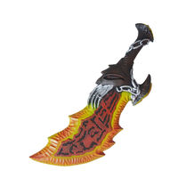 God of War 3 Blade Toy of Chaos Kratos PU Sword Set Life Size Props Replicas Model Blades Modle Toys 65cm