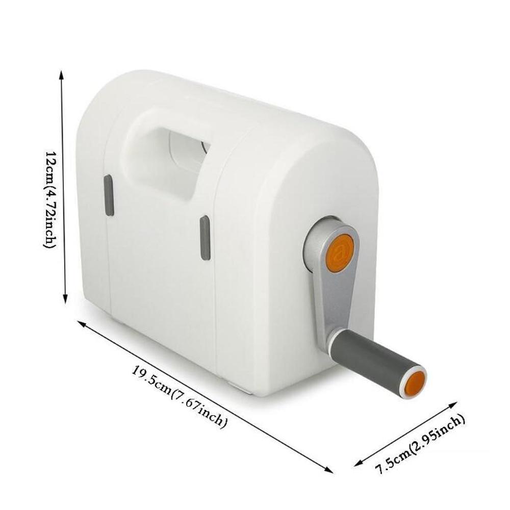 Высечка выбивая машина Скрапбукинг резак кусок высечки бумаги Резак высечки дома DIY выбивая штампы инструмент - 2