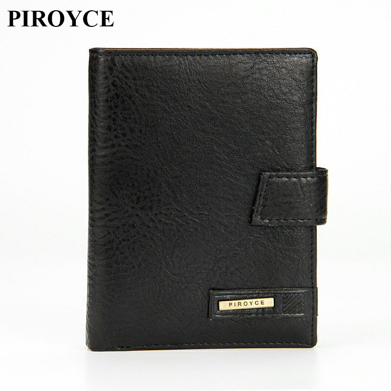 Hot Sale Leather Wallets Men Brand Vintage Purses Male Card Holders Top Quality Passport Cover Driver's License Cover Man Wallet top brand genuine leather wallets for men women large capacity zipper clutch purses cell phone passport card holders notecase