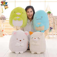Hot Sumikko Gurashi Doll San-X Corner Creature Pillow Cartoon Plush Toy Cat Dinosaur Bear Penguin Birthday Gift Japan Anime