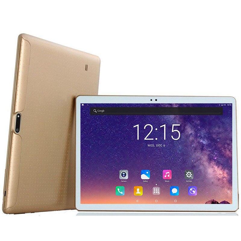 """DHL Бесплатная 10 дюймов Планшеты PC 3G WCDMA mt8752 Octa core 4 ГБ Оперативная память 64 ГБ Встроенная память Dual SIM 5.0mp android 7.0 GPS 1280*800 IPS Планшеты ПК 10"""""""