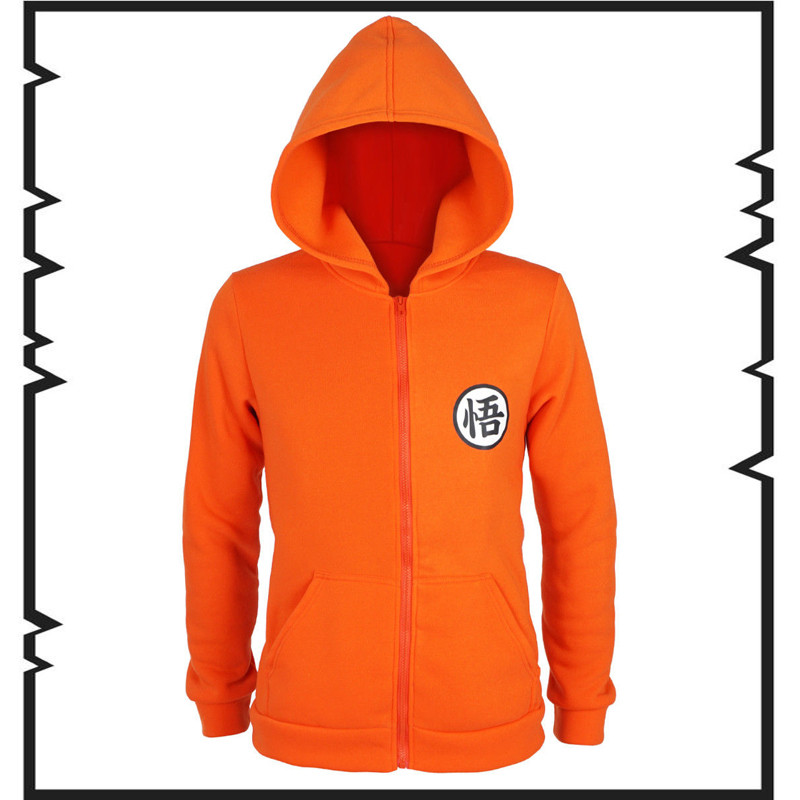 Anime Cosplay DRAGON BALL Z Son Goku Costumes  Hoodie Outerwear European size Free Shipping