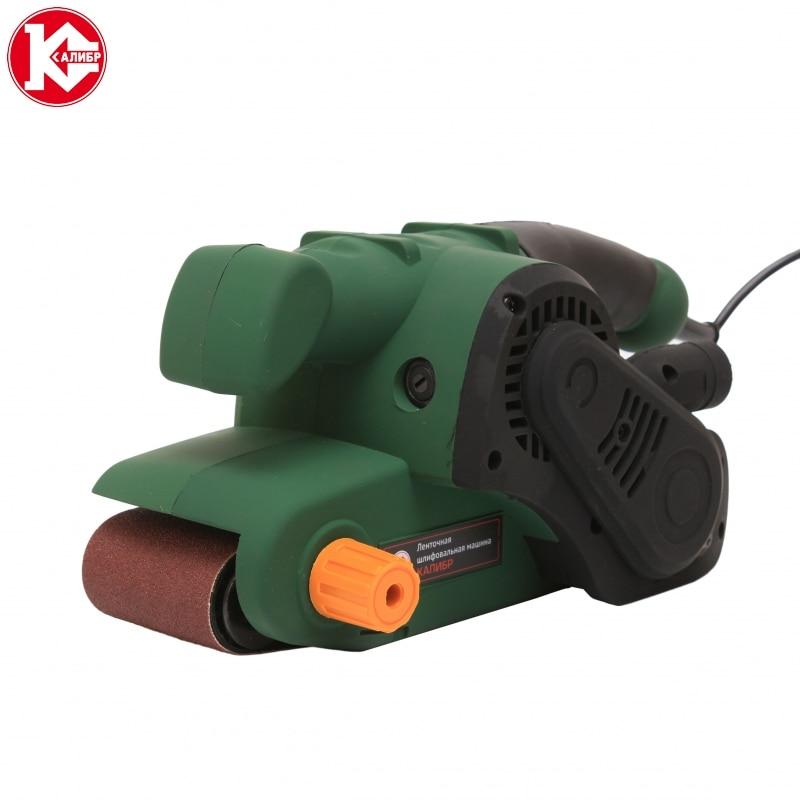 Electric tool Belt sanding machine Kalibr LSM-950E high quality new arrival 211pcs 6 speed adjustable speed electric rotary drill grinder machine polish sanding tool set