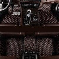 Изготовленные на заказ автомобильные коврики 5or7 сиденье для всех моделей для vw golf bmw e46 ford focus 2 Chevrolet cruze volvo XC90 автомобильные коврики автомоби