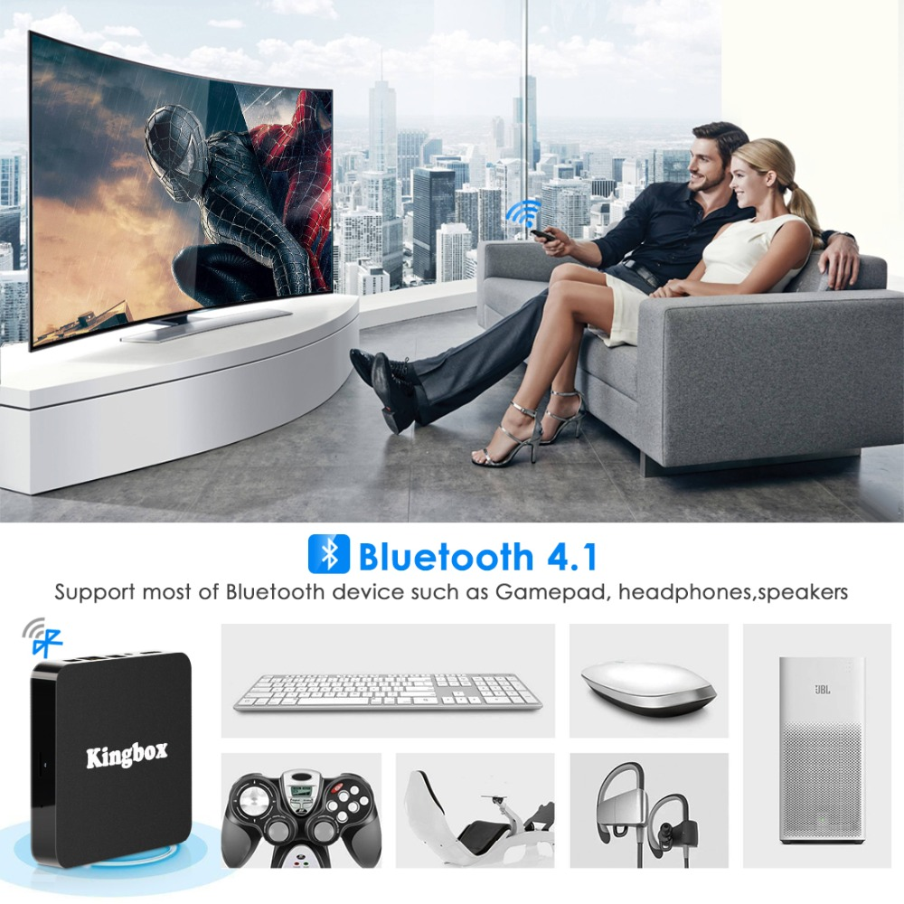 Image 2 - Android 9.0 Smart TV BOX Google Assistant RK3228 4G 64G TV receiver 4K Wifi Media player Play Store Free Apps Fast Set top Box-in Set-top Boxes from Consumer Electronics