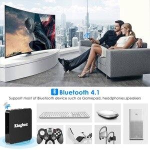Image 2 - Leelbox K4 MAX Box 4 K TV Box RK3228 Quad Core 64 bit Mali 450 100Mbp Android 9.0 4 GB + 64 GB HDMI2.0 2.4G WiFi BT4.1 Nieuwste