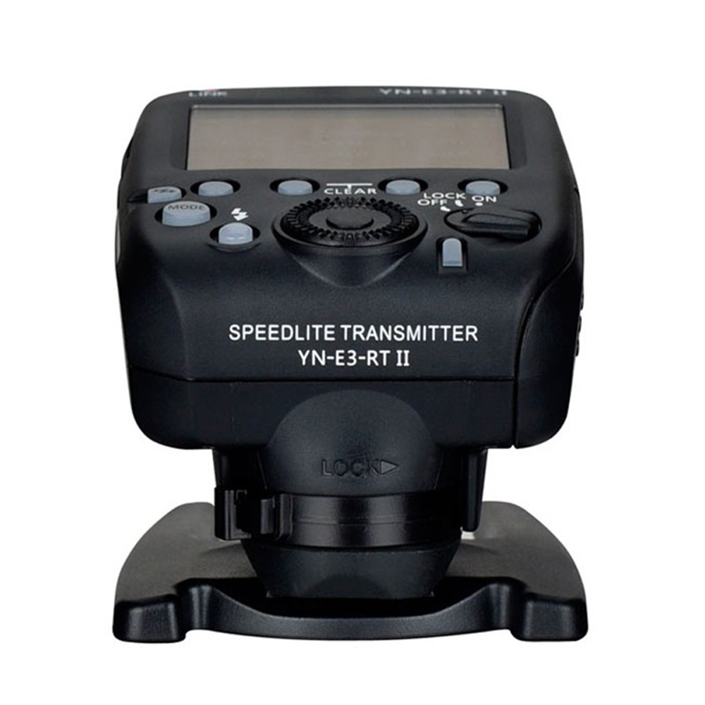 Yongnuo YNE3-RT II Wireless Speedlite Transmitter for Canon ST-E3-RT 600EX-RT IT