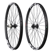 Hot sale 27.5er mtb carbon wheels China 650B all mountain bike wheelset 35mm clincher tubeless ready 32H UD matt AM275 35C