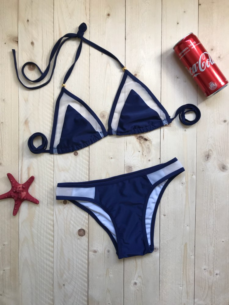 New Arrived 2017 Women Sexy Bandage Bikini Set Push-up Padded Bra Swimsuit Swimwear Bathing Suit Close Fitting Comfortable