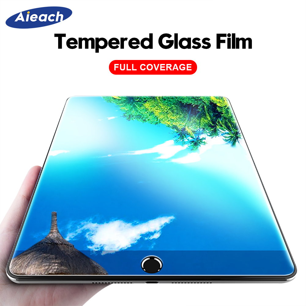 Tempered Glass For IPad 2017 2018 9.7 Screen Protector For IPad Air 1 2 Mini 3 4 5 Protective Film For IPad Pro 11 2020 10.5 9.7