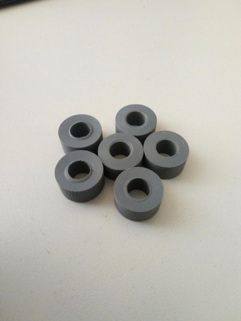 300pcs pickup roller tire only 604K19890 604k11192 For Okidata B6200 6250 6500 6300 710 For xerox