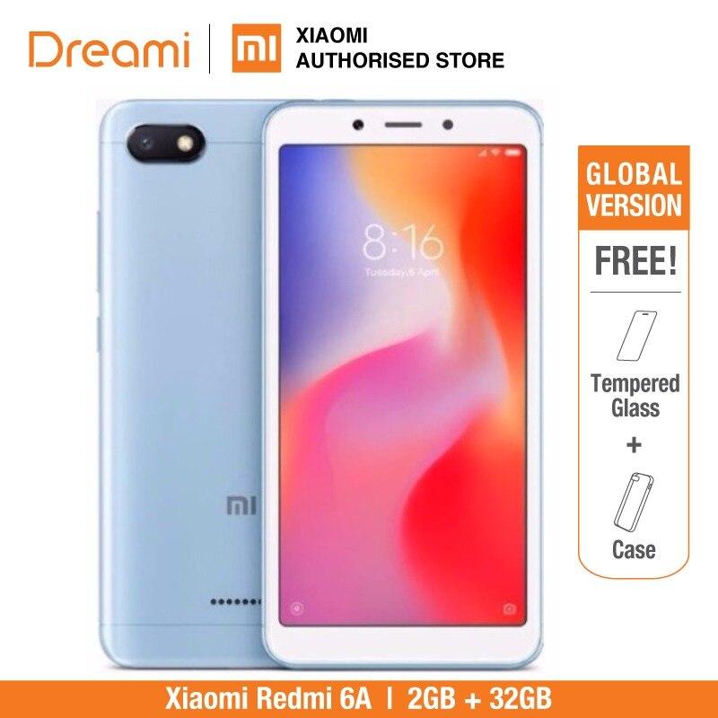 Xiaomi Redmi 6A глобальная версия 32 Гб rom 2 Гб ram (новый и запечатанный)