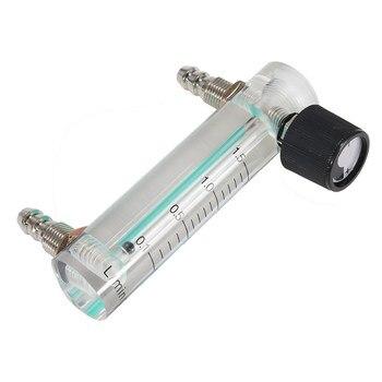 0-1.5LPM 1.5L расходомер кислорода расходомер с регулирующим клапаном для кислорода воздуха газа