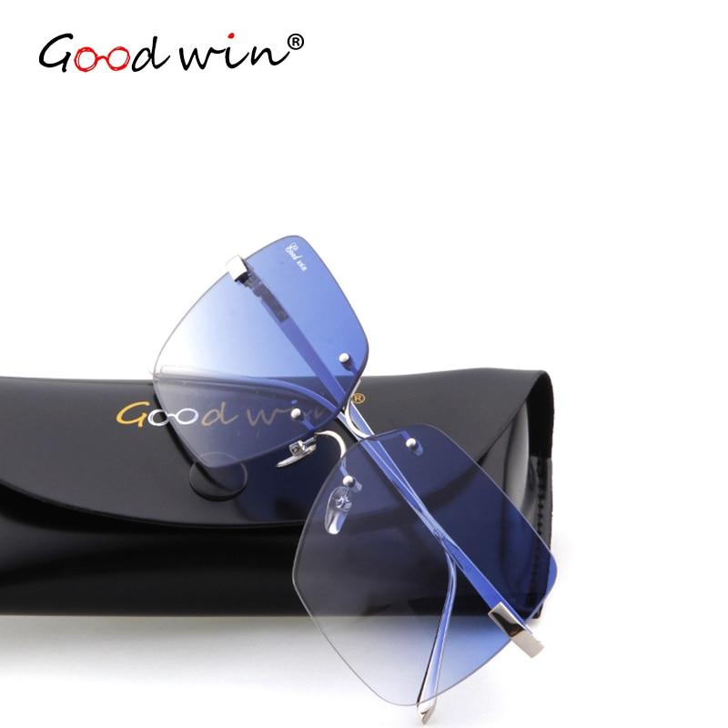 Online Get Cheap Gafas De Sol Sin Montura Gradiente De Colores ...