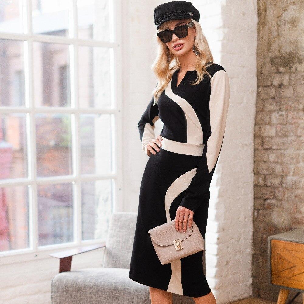 Dress AVEMOD AV 629 Women's clothes [available with 10 11] suit avemod av 357 heavenly