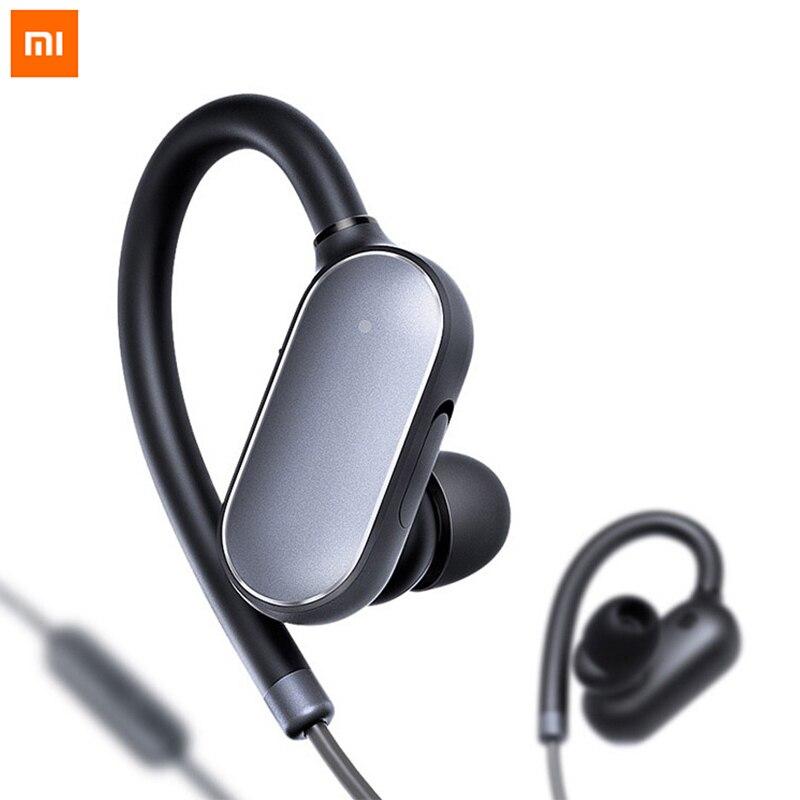 100% Original Xiaomi Mi Sports Bluetooth Headset Waterproof Ear Hook Earphone Earbuds With Microphone for Xiaomi iPhone