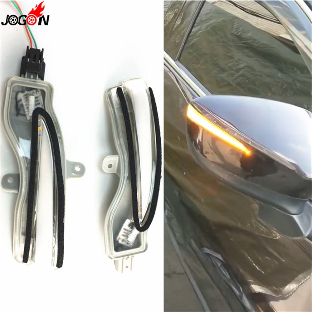Dynamic Turn Signal Rearview Mirror Indicator Blinker Repeater Light For Mazda CX 3 2016 2018 CX