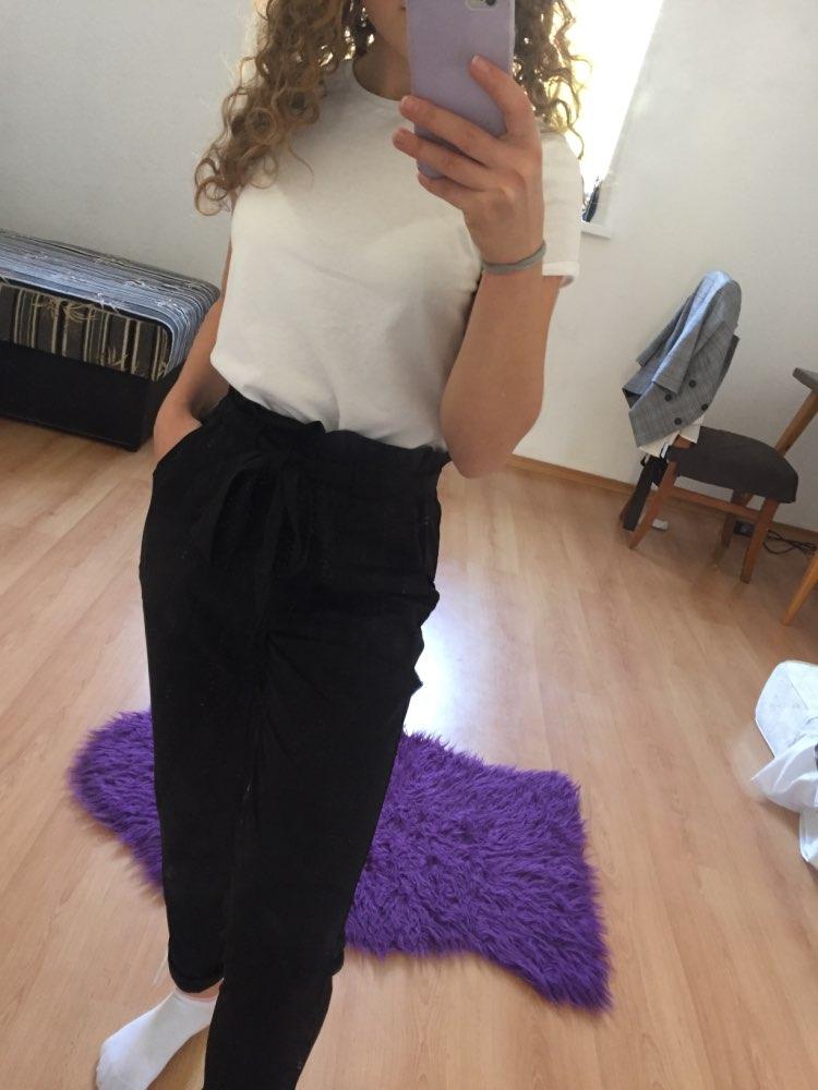 calça clochard preta