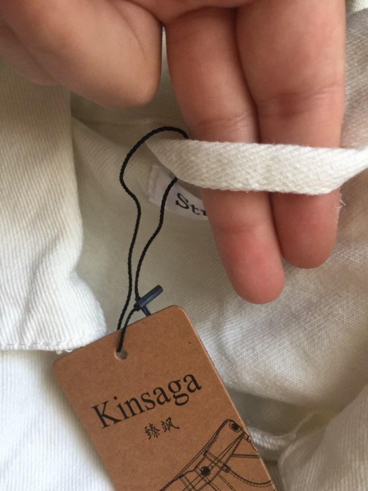 Jaquetas básicas rasgado primavera streetwear